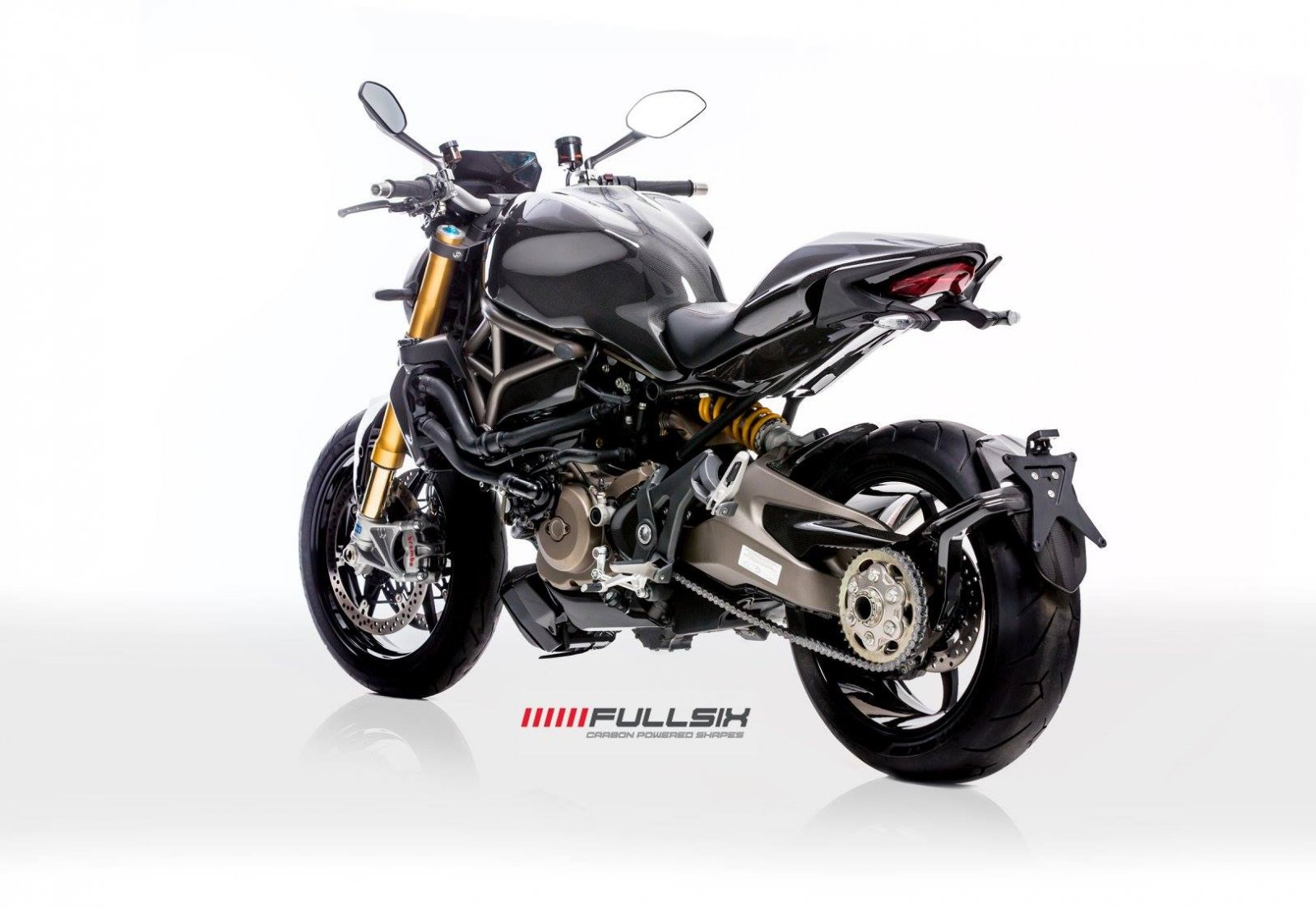 Fullsix Ducati Monster 821 1200 Carbon Fibre Parts Now Available