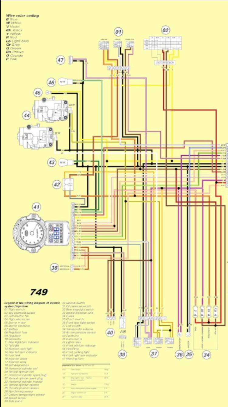 999 - weird winter electrics - help please | ducati forum ducati 749 wiring diagram  ducati forum