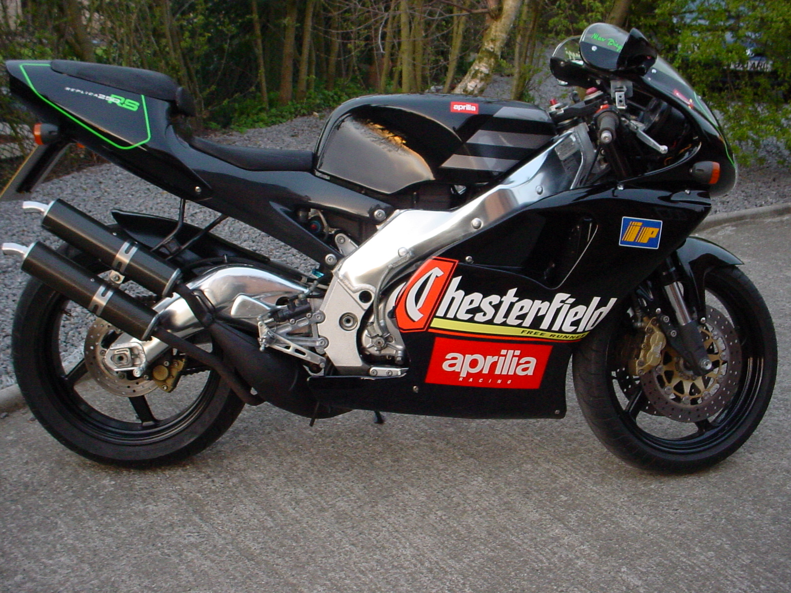 for sale aprilia rs250 chesterfield 5000 miles need an. Black Bedroom Furniture Sets. Home Design Ideas