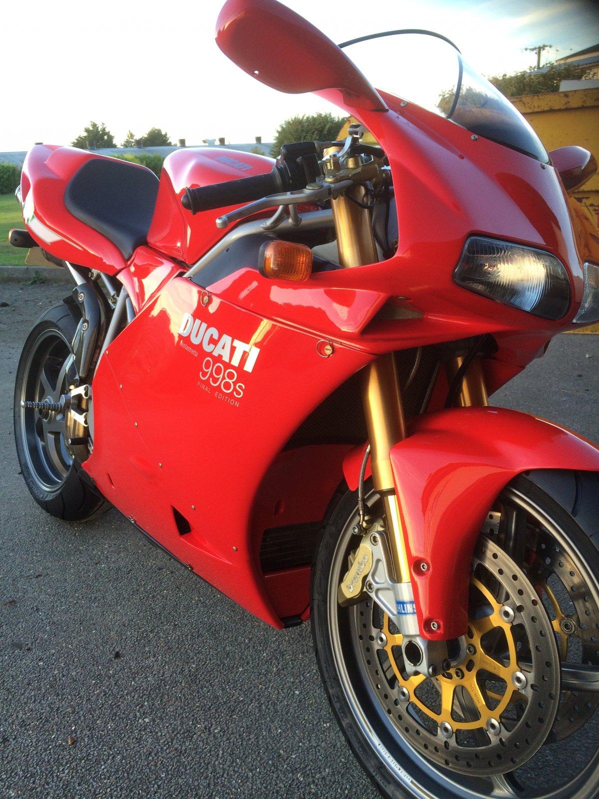 For Sale - Ducati 998s Final Edition   Ducati Forum