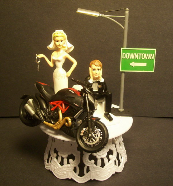 Motorcycle-DUCATI-Diavel-Carbon-Bike-Bride-and-Groom-Wedding-Cake-Topper-Funny-.JPG