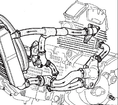 ducati engine diagrams st2  well any ducati  coolant flow diagram ducati forum  st2  well any ducati  coolant flow