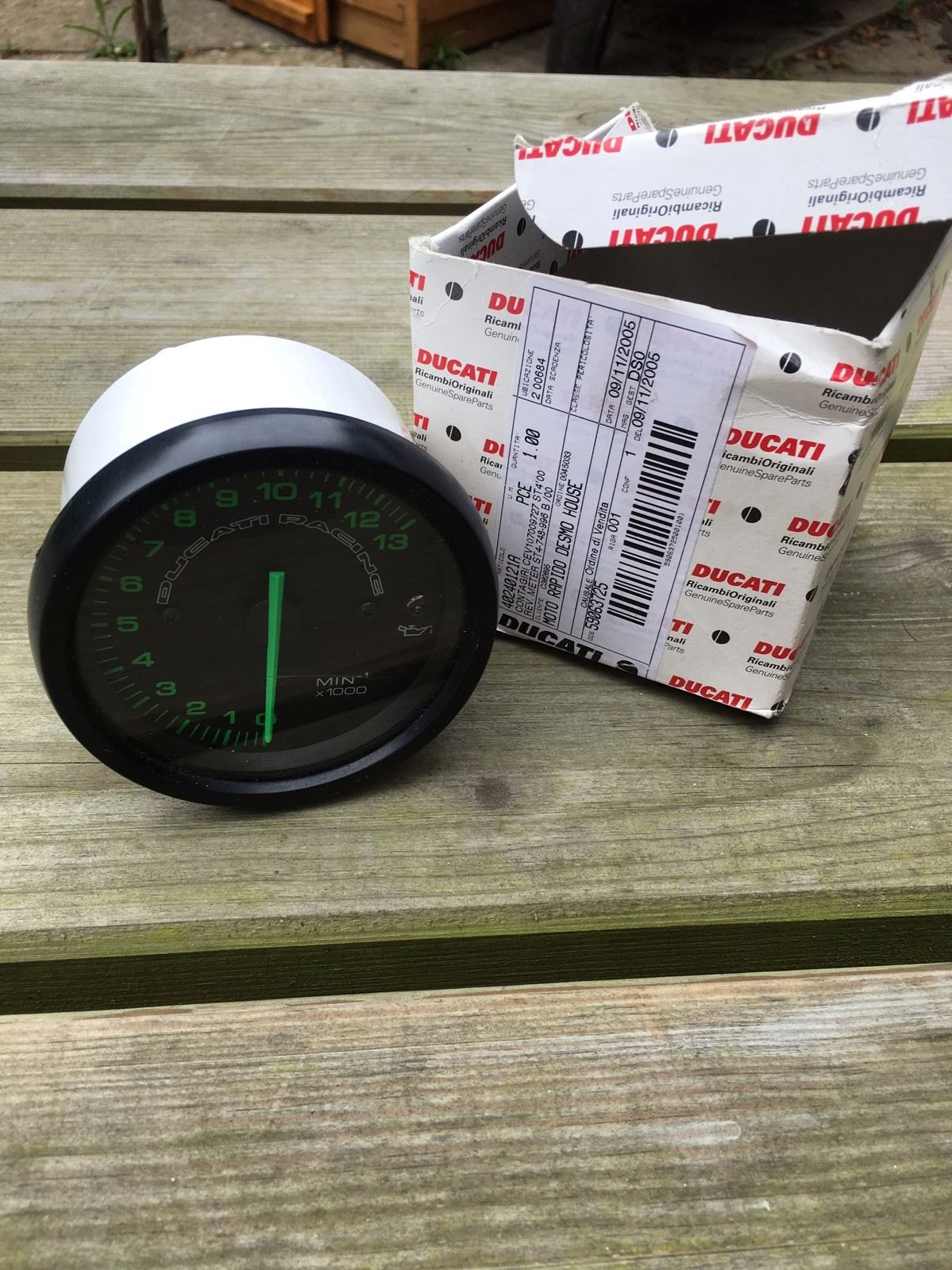 For Sale Ducati Racing Rev Counter Tacho 748 996 Forum Wiring Loom 1 2