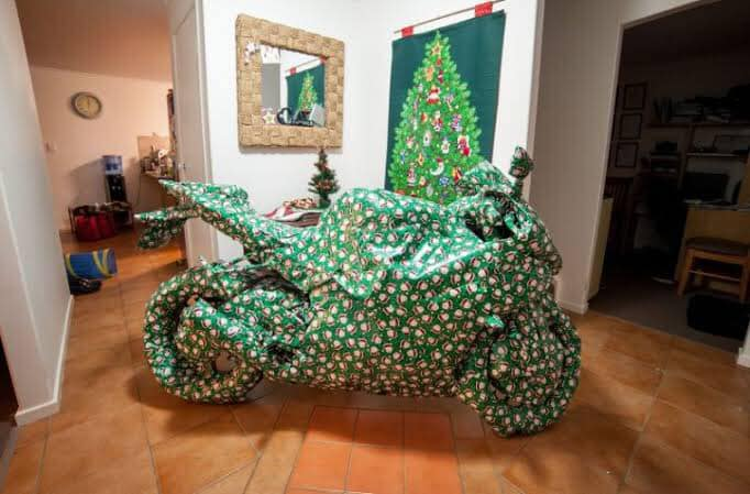 Xmas wrapped bike.jpg