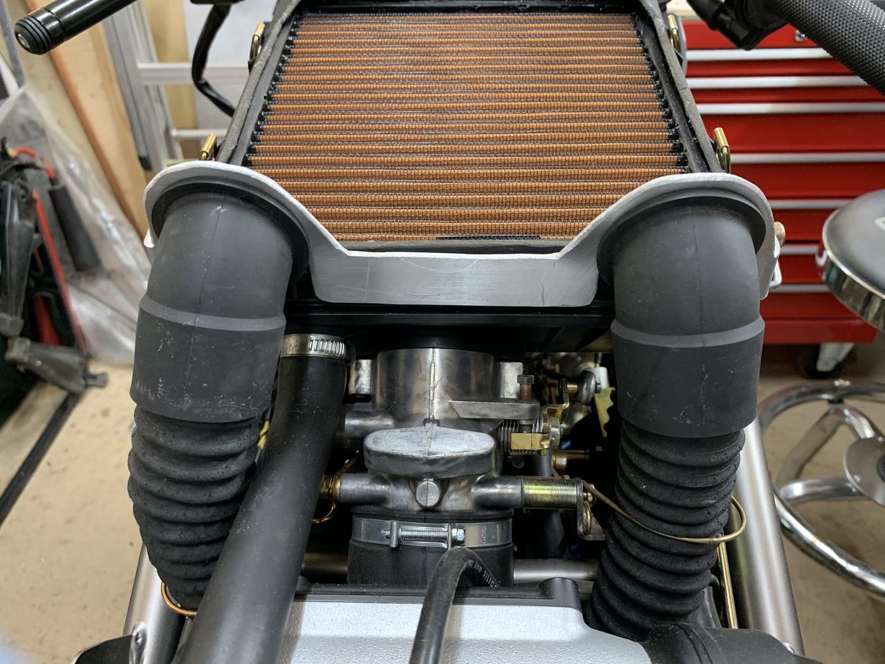 Air Duct Bracket rear