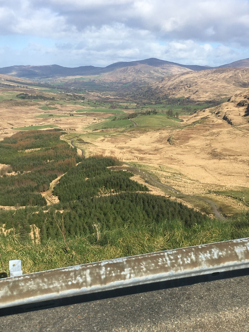 View from Caha Pass