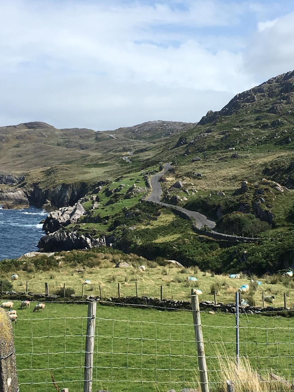 The coast road Allihies to Eyeries
