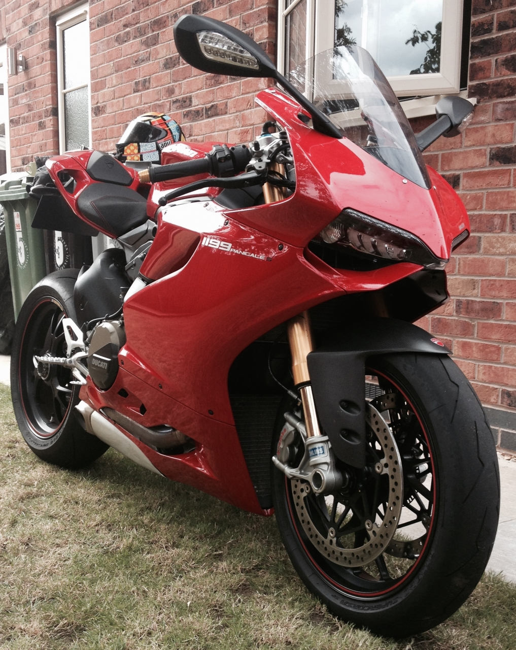 Album My New Baby 1199s Ducati Forum