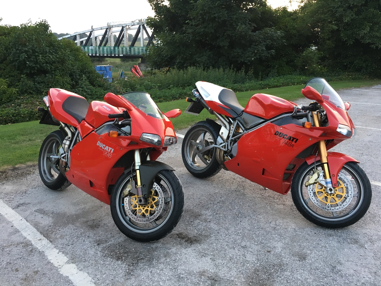 Mike an ian Wooly's 998
