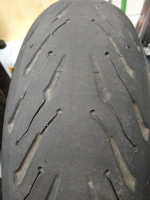 Michelin Road 5 GT Tyres after 3,250 miles