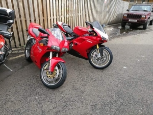 Annual holiday to Ducati Glasgow