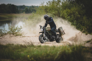 An article about Ducati HyperScrambler Custom by Kalapea Garage
