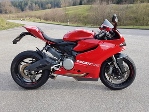 Panigale 899 Upgraded